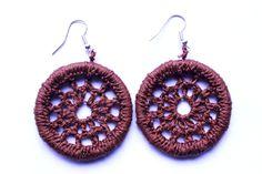 mataza mataza on Etsy Etsy Seller, Create, Unique, Earrings, Hand Made, Crocheting
