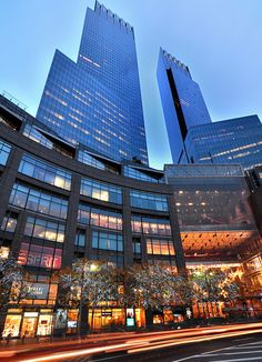 Time Warner Center, New York City: I lived next door to the old Colosseum at 60 street for many years. Never imagined this would be next door.
