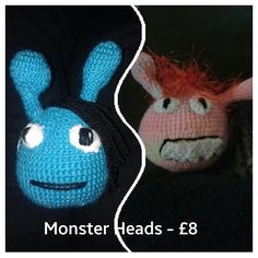 Is your child having problems with sleeping? These heads are designed to scare the nightmares away and can even be infused with lavender!  The heads come with a letter from the monster to your child explaining their duties. http://goo.gl/PYPosa