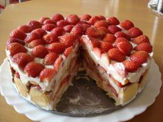 Brownie Cupcakes, Fork, Tiramisu, Strawberry, Pie, Fruit, Travel, Torte, Cake