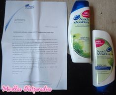 My sister tested the new serie from Head & Shoulders Apple fresh.