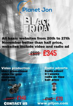 Better than half price from 20th / 27th November 2015, Back Friday