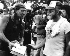 Flash Gordon gives Willie Nelson a Urantia Book