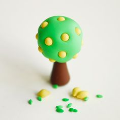 Miniatur-Terrarium Polymer Clay Miniatur von JooJooTreasures
