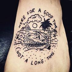 Tatt-Tuesday sent in from @fleetwoodmatt13 🌴 #jamiebrowneart #tattuesday…