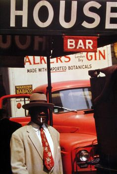 Saul Leiter Harlem 1960