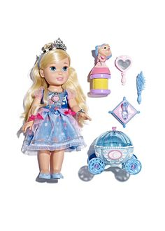 A set of toys fit for a princess.
