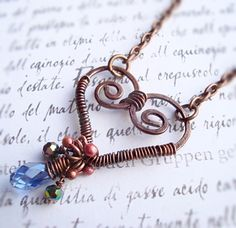 Wire-wrapped Necklace