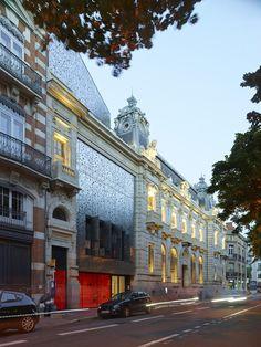Caisse d'Epargne Headquarters,© Stéphane Chalmeau