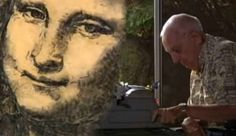 A Man Named Paul Smith, Who Has Cerebral Palsy, Creates Awesome Art Using His Typewriter