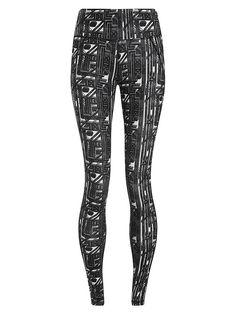 Sweaty Betty - Contour Printed Workout Leggings (Regular Length)