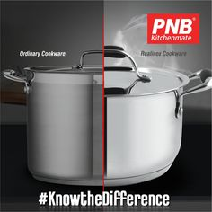 """Try out the latest product - """"#RealInoxCookware"""" by PNB Kitchenmate Specification - A food-grade stainless steel body. #Induction friendly 430-grade sandwich bottom Knob & handle made with high-class silicon for the comfortable grip etc..👌🙂 #knowthedifference #kitchenset #kitchenlife #kitchen #kitchendesign #kitchenaid #kitchenremodel #kitchener #best #newmodel #new #newproducts #hard #pressurecooker #mykitchen #mykitchenrules #my #models #cookware #realinox"""
