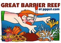 The Great Barrier Reef (World Geography/World Cultures - Australia) Lesson Plan Great Barrier Reef, Australia For Kids, Australia Funny, Cairns Australia, Around The World Theme, Carnival Of The Animals, Continents And Oceans, Ocean Unit, Free Lesson Plans