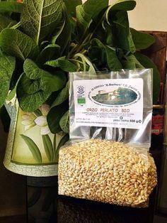 Non solo frutta e verdura...  Per voi Orzo perlato Bio, un cereale ricco di fibre, vitamine e sali minerali molto semplice da usare in cucina.