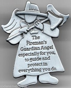 Every fireman should have a FIREMAN'S ANGEL to keep him safe. It's on SALE now at: www.FireandRescueStore.com
