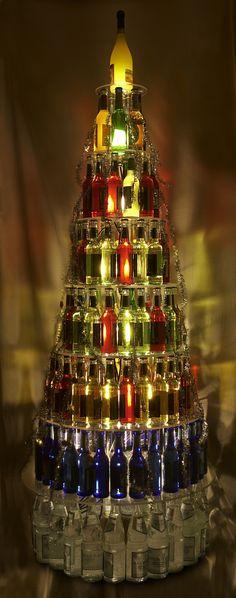 Details aus dem beleuchteten Flaschenbaum (2009)