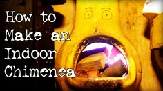 In this episode we show you how to use your chiminea indoors! To build your own indoor chiminea you will need: A chiminea, The base from a camping stove / ho. Chiminea, Heating And Cooling, Cool Diy, Solar, Indoor, Cool Stuff, Camping Stove, Projects, How To Make