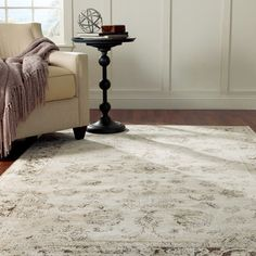 nuLOOM Oriental Vintage Viscose Persian Natural Area Rug | Overstock.com Shopping - Great Deals on Nuloom 7x9 - 10x14 Rugs