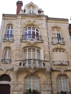 France | Nancy - Art Nouveau