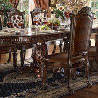 Acme Furniture Vendome Tufted Dining Side Chair - Set of 2 - 62004 Dining Room Sets, Dining Chair Set, Dining Room Chairs, Side Chairs, Acme Furniture, Dining Furniture, Rustic Furniture, Tuscan Furniture, Furniture Design
