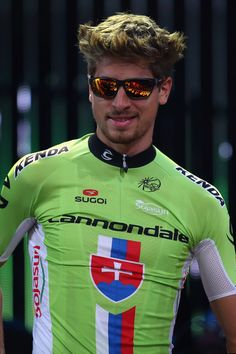 Peter Sagan, of the Czech Republic and Cannondale, attends the 2014 Tour de France Team Presentation prior to the 2014 Le Tour de France Grand Depart on July 3, 2014 in Leeds, UK.  Please follow us @ http://www.pinterest.com/wocycling