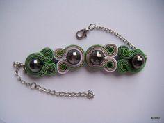 Handmade soutach bracelet Soutache Bracelet, Soutache Pendant, Soutache Jewelry, Beaded Jewelry, Handmade Jewelry, Victorian Jewelry, Shibori, Beaded Embroidery, Jewlery