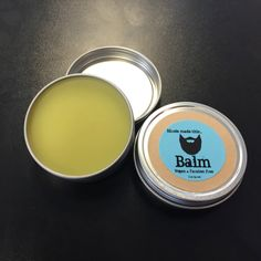 Beard Balm - Vegan Friendly, Paraben Free, Handcrafted in Small Bathches Just For You! Available in 2 Different Formulas. by nicolemadethisinc on Etsy