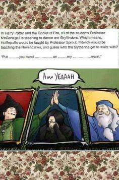 Professor Snape dance partayyyy