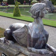 Odd sculpture at Blenheim Palace
