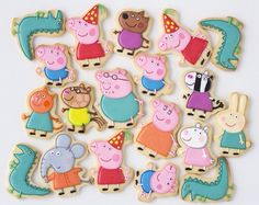 Peppa Pig is actually a English toddler lively television system collection focused and also generated Peppa Pig Cookie, Peppa Pig Birthday Cake, Birthday Cookies, Tortas Peppa Pig, Cumple Peppa Pig, Peppa Peg, Peppa Pig Cakes, Peppa Pig Y George, George Pig