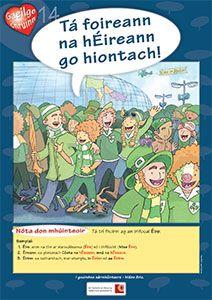 Póstaeir dírithe ar chruinneas Gaeilge, bunaithe ar na botúin is coitianta a dhéanann daltaí: Audrey Fluerot, Irish Language, Ares, Primary School, Ireland, Posters, Culture, Teaching, Activities