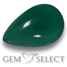 GemSelect features this natural Agate from India. This Green Agate weighs 8.5ct and measures 16.9 x 11.2mm in size. More Pear Cabochon Agate is available on gemselect.com  #birthstones #healing #jewelrystone #loosegemstones #buygems #gemstonelover #naturalgemstone #coloredgemstones #gemstones #gem #gems #gemselect #sale #shopping #gemshopping #naturalagate #agate #greenagate #peargem #peargems #greengem #green Green Gemstones, Loose Gemstones, Natural Gemstones, Buy Gems, Green Agate, Gem S, Gemstone Colors, Shades Of Green, Stone Jewelry