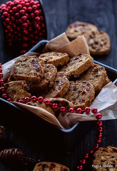 Christmas fruit cookies- A guest post for Lubna Karim from Yummy food