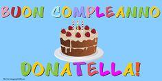 Cartoline Donatella - Cartoline con nome - messaggiauguricartoline.com