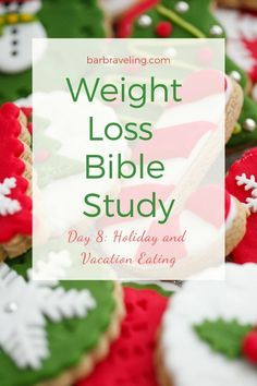 It's hard to be healthy or follow a weight loss plan during the holidays with all that yummy food around! This weight loss Bible study will help! #holidayeatingtips #weightlossmotivation #weightlossBible #weightlossgodsway Weight Loss Plans, Weight Loss Program, Best Weight Loss, Losing Weight Tips, Weight Loss Tips, How To Lose Weight Fast, Weight Gain, Weight Loss Snacks, Healthy Weight Loss