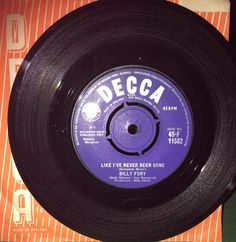 Billy Fury Like I ve Never Been Gone Rare Decca British 1963 Rare EX+