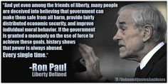 Ron Paul is right, once again.