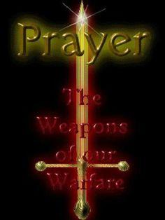 Prayer warriors arise!