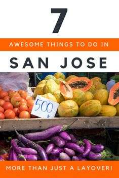 San Jose in Costa Rica is all to often written off as a stopover destination with nothing to do. Here are 7 fun reasons why that's just not true! #costarica #travel