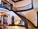 Dream Home Great Rm - traditional - staircase - indianapolis - by Christopher Scott Homes
