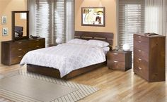 Nexera Nocce Bedroom Set
