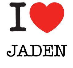 I Heart Jaden #love #heart