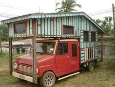 Pinoy style mobile home