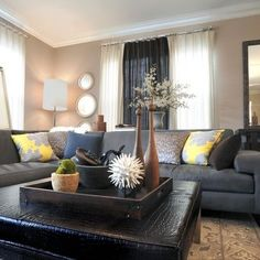 Grey Couch Design Ideas, Pictures, Remodel, and Decor - page 28