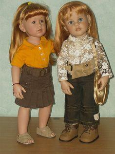 JADE et LOU. www.Lilianedolls.skyrock.com.