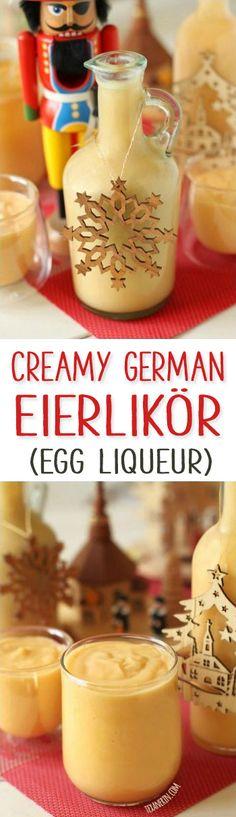 Eierlikör – This German Egg Liqueur (a.k.a. Advocaat) is similar to eggnog but so much better!