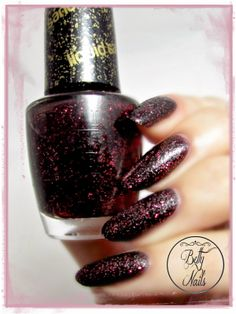 Betty Nails: O.P.I - Stay the Night  | See more at http://www.nailsss.com/colorful-nail-designs/2/