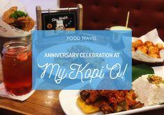 We had our anniversary dinner here! :D #FoodTravel #Food #Foodie #FoodBlogger #KulinerSurabaya #Kuliner #MyKopiO