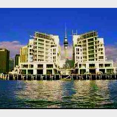 Hilton Hotel | Auckland, New Zealand | First night of Gap Year travels..
