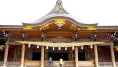 Beautiful Samukawa Shrine